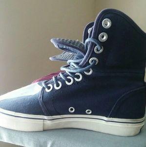 Levis hightop shoes